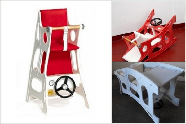 Hokus Pokus barnestol eller højstol