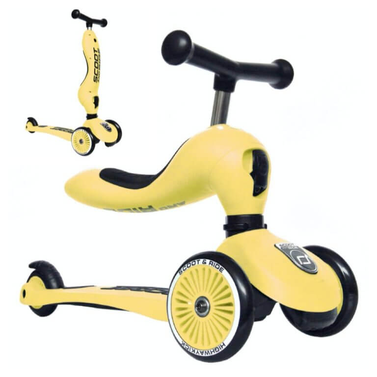 2i1 løbecykel fra Scoot and Ride